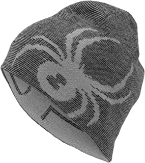 Bleu SPYDER SpyderHERITAGE Hmme Ski Pompon Bonnet