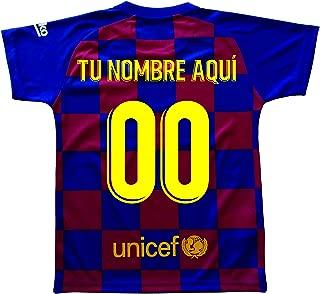 Dorsal 21 DE Jong Barcelona 2019-20 Camiseta 1/ª equipaci/ón FC Adulto Talla M Replica Oficial con Licencia