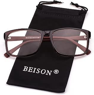 Womens Mens Glasses Frame Nerd Eyeglasses Clear Lens