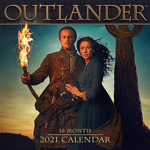 2021 Outlander 16-Month Wall Calendar