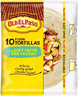 Old El Paso Soft Tacos & Fajitas Shells, 8.2 oz Bag