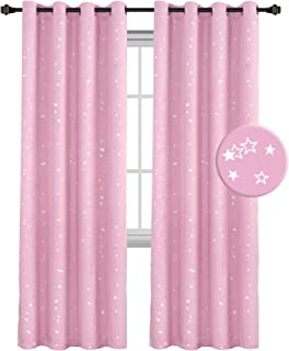 H.VERSAILTEX Thermal Insulated Star Window Curtains- Room...