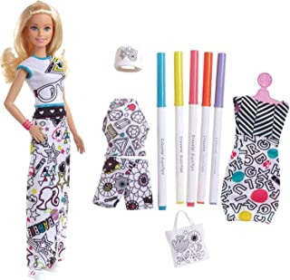 Barbie Crayola Color-in Fashions, Blonde