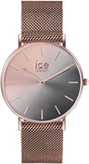 Ice-Watch ICE City Sunset Smoky Eye Rose Gold Milanese Strap Small Women's Watch 016026