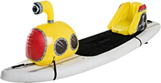 Stand Up Floats Inflatable Toy Submarine and seat Easily attaches to Any SUP Paddle Board with Removable Universal Harness...