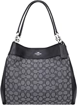 Coach Lexy Shoulder Bag in Outline Signature 2018 Collection Style F57612