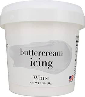 Cake Craft Whipped Buttercream Icing White 16 Ounces