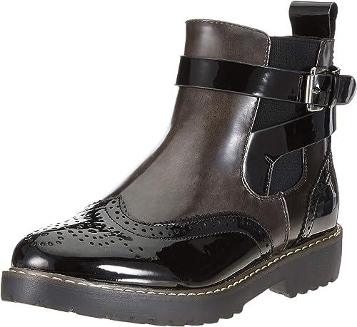 Rieker 98081, botas Chelsea para mujer