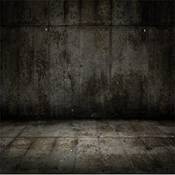 Polyester 8x8ft Retro Grunge Moldy Dirty Cement Wall Photography Background Nostalgia Wall Grunge Vintage Dirty Floor Backdrops Adults Personal Portrait Shoot Artistic Photo Studio Props