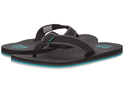Reef Beach Woven (Black/Aqua) Men