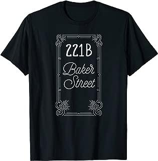 221B Baker Street - Sherlock Holmes - T-shirt