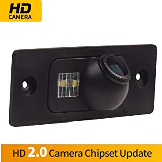 HD 720p CCD Trasera C/ámara C/ámara de Marcha Atr/ás con de Visi/ón Nocturna para Nissan 350Z 370Z Versa Tiida Sentra Cube GT-R Leaf