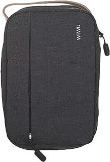 حقيبة تخزين مريحة سهلة فى التخزين وفى السفر من وي وو للرجال - اسود بيج
