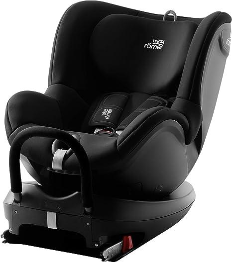 Britax Römer Car Seat DUALFIX 2 R, Swivel, ISOFIX, Group 0+/1 (Birth - 18 kg),Baby 0 to 4 Years Old, Cosmos Black: image