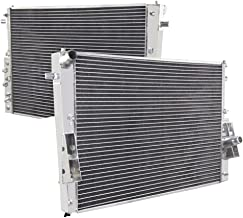 ALLOYWORKS 3 Row Radiator - 55mm Core Aluminum Replacement Radiator For 2008 2009 2010 Ford F-250 F-350 F-450 F-550 Super Duty 6.4L V8 Diesel Automotive Engine Coolant