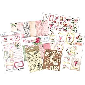 KORA projects Kit Scrapbooking - Princess Garden (Tarjetas en ESPAÑOL): Amazon.es: Hogar