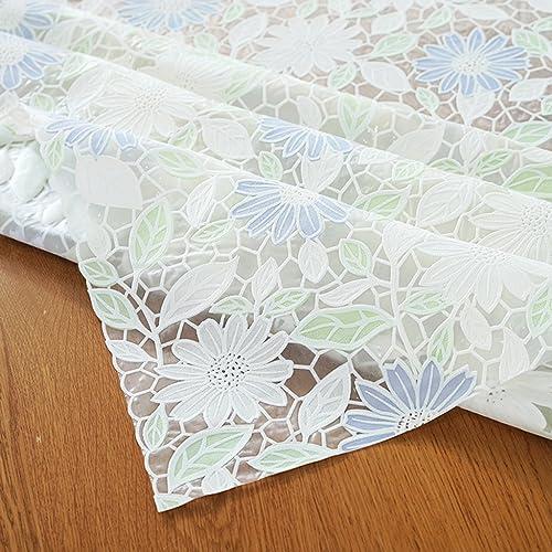 Unbekannt %Tablecloth PVC-Wasserdichte Tischdecken, Anti-Öl-Tischdecken Garten Tisch Pad Kunststoff Tischdecken Soft Glass Table Mat (Farbe   B, Größe   137  200cm)