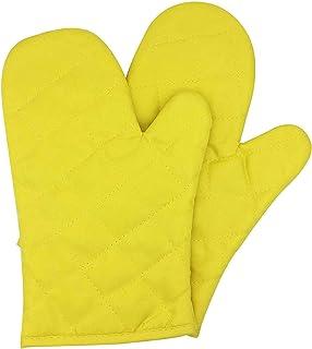 Voarge rękawice kuchenne, odporne na wysokie temperatury, 1 para żółtych
