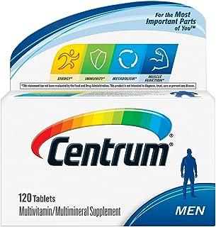 CENTRUM MEN 120 tablets plus 20 multivitamen multimineral supplement