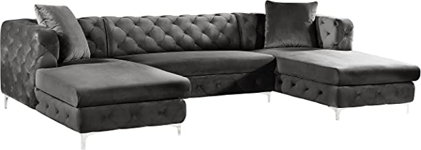 cindy crawford sectional dimensions