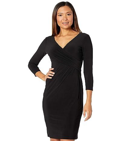 LAUREN Ralph Lauren Cleora Dress (Black) Women