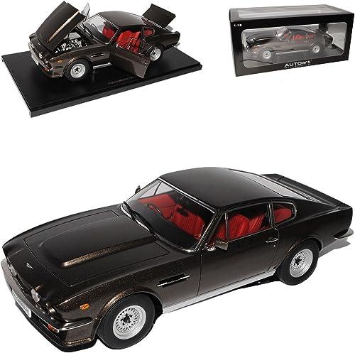 AUTOart Aston Martin V8 Vantage Cumberland Grau 1985 1977-1989 70221 1 18 Modell Auto mit individiuellem Wunschkennzeichen