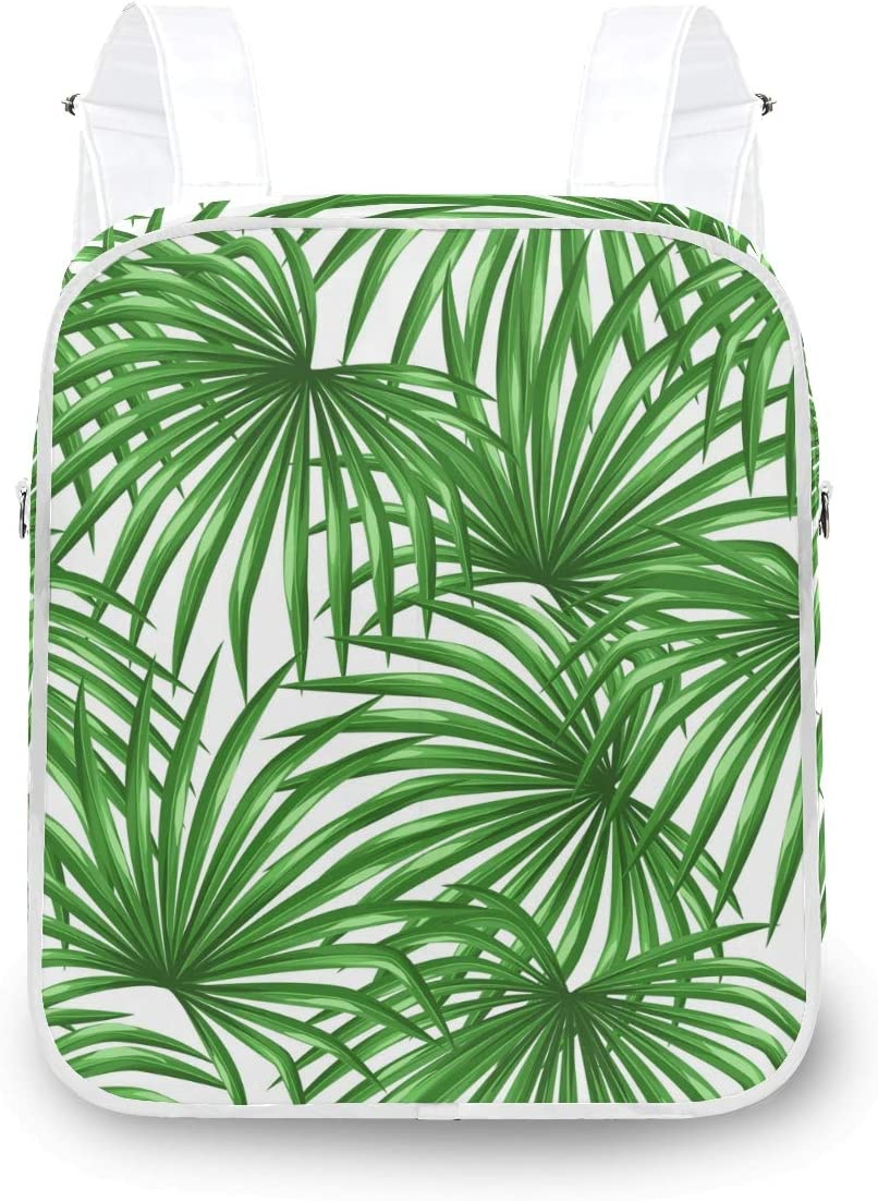 MOFEIYUE Great interest Women Backpack Tropical Plant Palm Surprise price Shoulder Leaves Scho