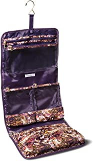 Sonia Kashuk153; Cosmetic Bag Valet Distress Floral with Foil MULTI-COLORED
