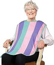 Deluxe Adult Terry Cloth Long Bibs - 3PK Rainbow
