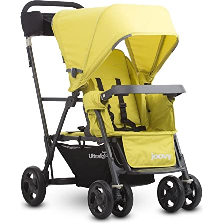 Joovy Caboose Ultralight Graphite Stroller, Citron