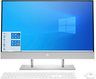 "HP All-in-One 27-dp0012ns - Ordenador de 27"" FHD (AMD Ryzen 3 4300U, 8 GB RAM, 512 GB SSD, gráficos AMD Radeon, Windows 10..."