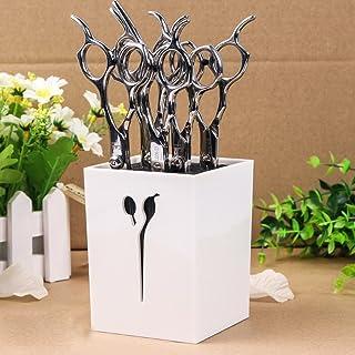 MissLytton Professional Salon Scissors Holder Rack, Hairdresser Scissor Storage Case Keeper, Modern Hairdressing Combs Cli...