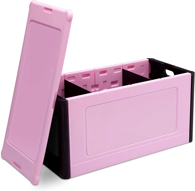 Delta Children Store And Organize Toy Box Pink