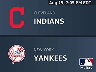 Cleveland Indians at New York Yankees