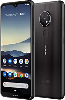 Nokia 7.2 Android One Smartphone (Official Australian Version) 2019 4G Unlocked Mobile Phone with Dual Sim, 48MP Triple Camera, Zeiss Optics, Pure Display, 2-Day Battery, 128GB,Charcoal