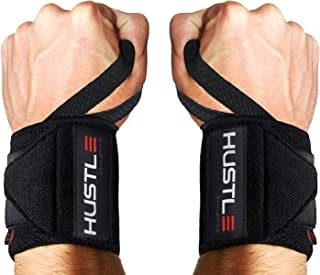 Hustle Athletics Wrist Wraps - Best Support for...