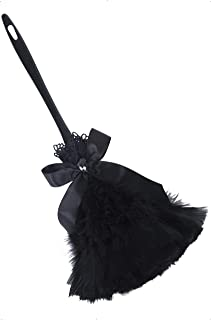 (1, Original Packaging) - Smiffy's Gothic Feather Duster - Black