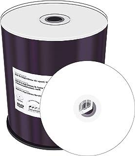 MEDIARANGE Inkjet Fullsurface-Printable - 100 x DVD-R - 4.7 GB 16x