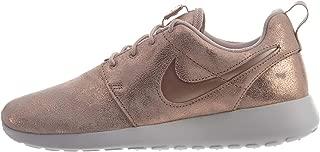 Nike Women's Roshe One Premium Shoe, Metallic Red Bronze, 8.5