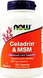 Celadrin® and MSM 500mg 120 Capsules (Pack of 2)