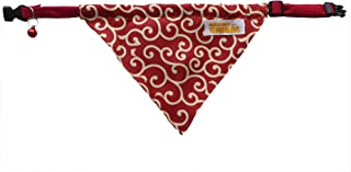 Kawaii Shiba Co. Karakusa Japanese Shiba Inu Dog Bandana with Adjustable Collar