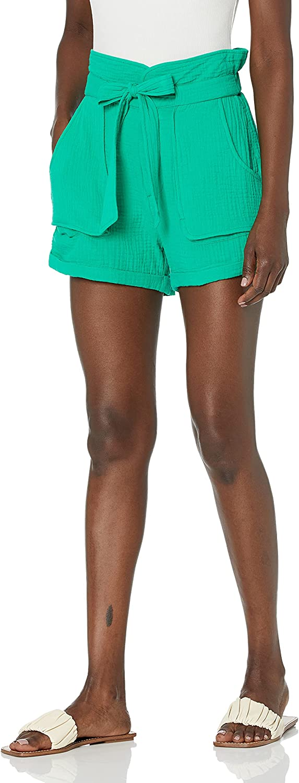 BLANKNYC Womens Outlet sale feature Medium Wash Denim Short 5 popular