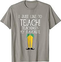 Best elf teacher shirt Reviews