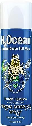 H2Ocean Piercing Aftercare Spray, 4 Fluid Ounce