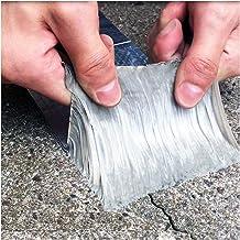 Superlijm Aluminiumfolie butyl rubberen tape zelfklevende hoge temperatuur weerstand waterdicht voor dakpijp reparatie thu...