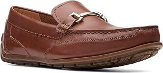 Clarks Benero Brace Casual & Dress Shoe For Men Brown Size 44 EU