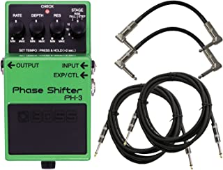 BOSS PH-3 Phase Shifter Pedal w/ 4 Cables