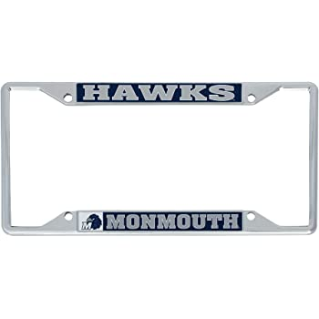 Alumni Desert Cactus Monmouth University Hawks NCAA Metal License Plate Frame for Front Back of Car Officially Licensed