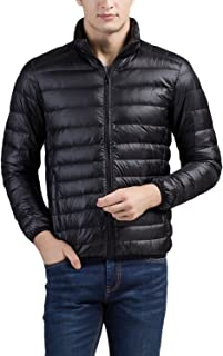 Cheering Men's Packable Down Jacket Winter Coat
