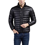 Cheering Men's Packable Down Jacket Winter Coat